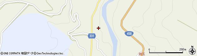 山形県最上郡大蔵村赤松1296周辺の地図