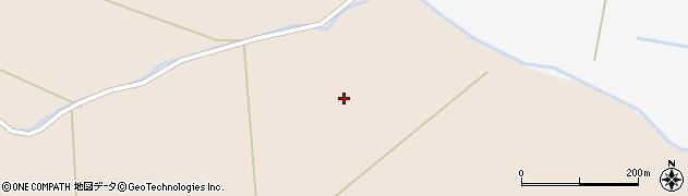 宮城県栗原市高清水穴田周辺の地図