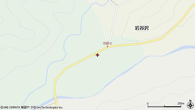 山形県尾花沢市市野々113周辺の地図