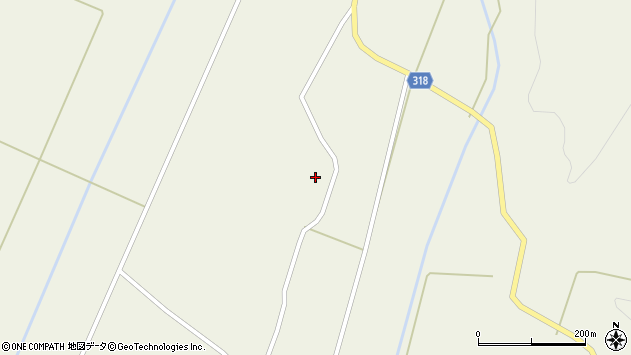 山形県尾花沢市寺内2574周辺の地図