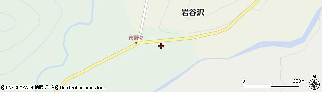 山形県尾花沢市市野々138周辺の地図