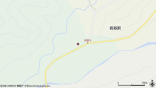 山形県尾花沢市市野々111周辺の地図