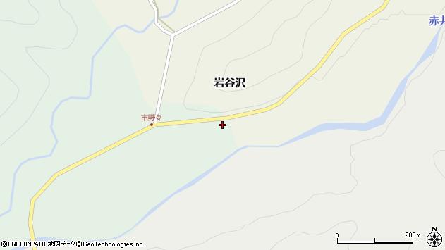 山形県尾花沢市市野々156周辺の地図