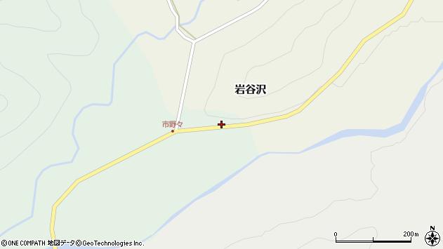 山形県尾花沢市市野々155周辺の地図
