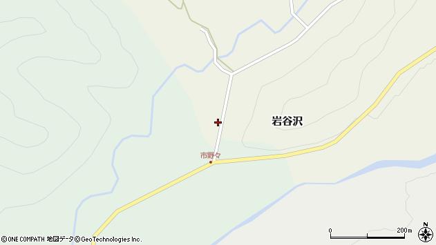 山形県尾花沢市岩谷沢9周辺の地図