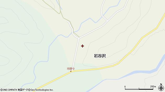 山形県尾花沢市岩谷沢20周辺の地図
