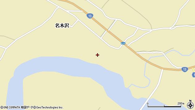 山形県尾花沢市名木沢1745周辺の地図