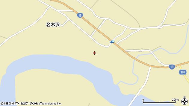 山形県尾花沢市名木沢747周辺の地図