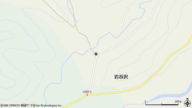 山形県尾花沢市岩谷沢33周辺の地図