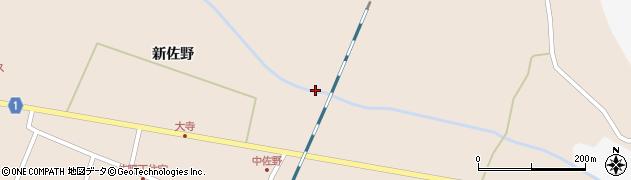 宮城県栗原市高清水雉子畑周辺の地図