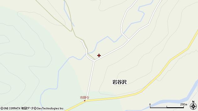 山形県尾花沢市岩谷沢35周辺の地図