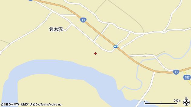 山形県尾花沢市名木沢1726周辺の地図