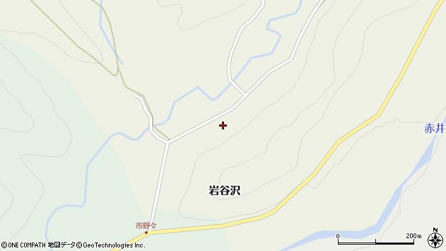 山形県尾花沢市岩谷沢57周辺の地図