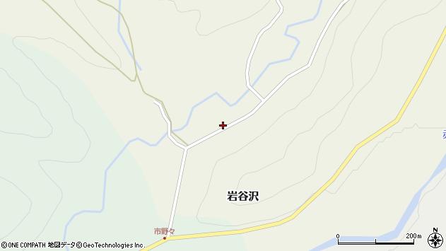 山形県尾花沢市岩谷沢59周辺の地図