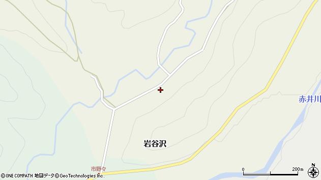 山形県尾花沢市岩谷沢64周辺の地図