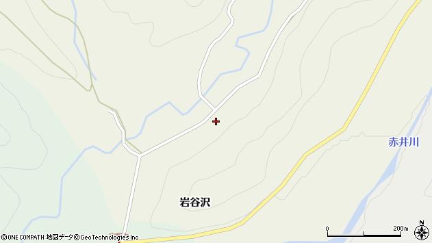 山形県尾花沢市岩谷沢68周辺の地図
