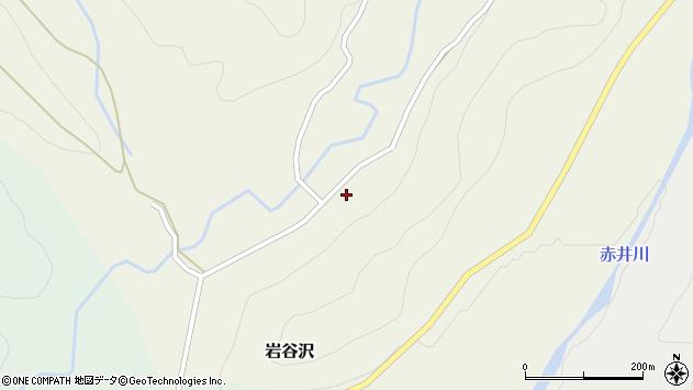 山形県尾花沢市岩谷沢78周辺の地図