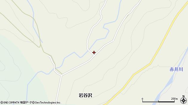 山形県尾花沢市岩谷沢74周辺の地図