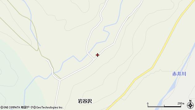 山形県尾花沢市岩谷沢77周辺の地図