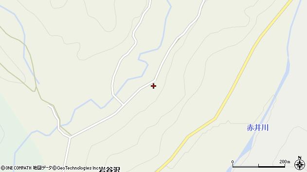 山形県尾花沢市岩谷沢87周辺の地図