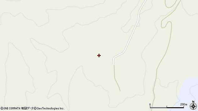 山形県最上郡大蔵村南山小滝周辺の地図