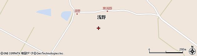 宮城県栗原市高清水浅野前周辺の地図