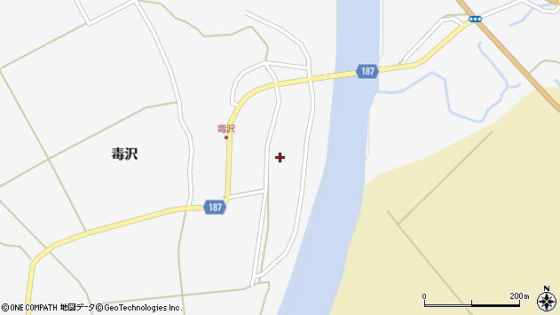 山形県尾花沢市毒沢943周辺の地図