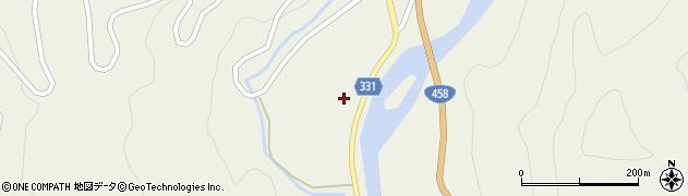 山形県最上郡大蔵村南山179周辺の地図