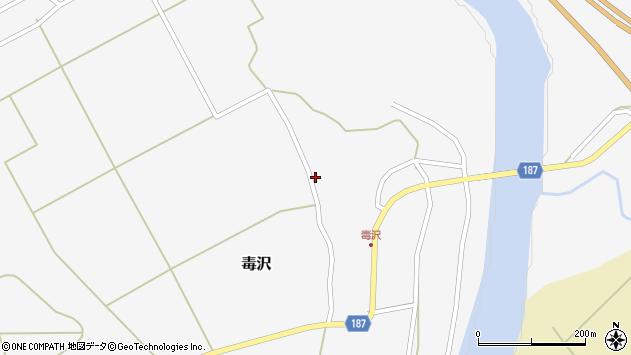 山形県尾花沢市毒沢779周辺の地図