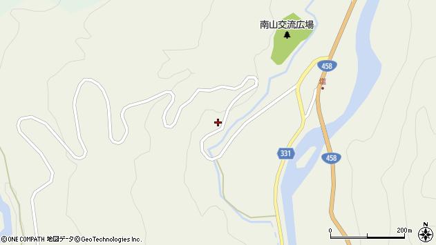 山形県最上郡大蔵村南山92周辺の地図