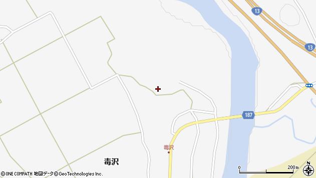 山形県尾花沢市毒沢793周辺の地図