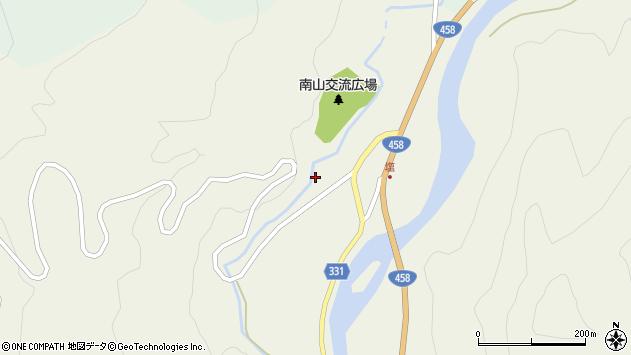 山形県最上郡大蔵村南山97周辺の地図