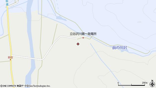 山形県東田川郡庄内町立谷沢水除5周辺の地図