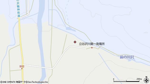 山形県東田川郡庄内町立谷沢水除13周辺の地図