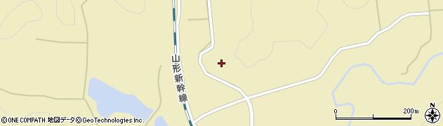 山形県尾花沢市名木沢大海平周辺の地図