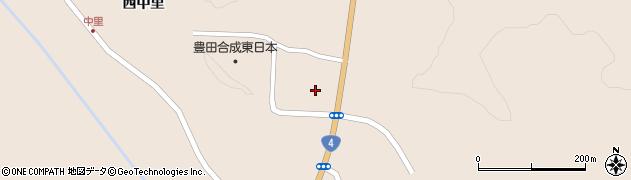 宮城県栗原市高清水大沢周辺の地図