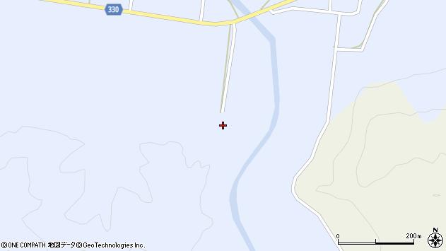 山形県最上郡大蔵村赤松326周辺の地図