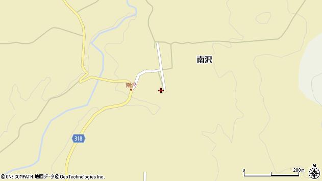 山形県尾花沢市南沢89周辺の地図