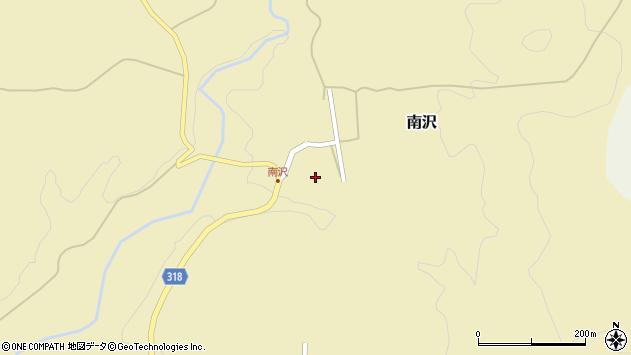 山形県尾花沢市南沢152周辺の地図