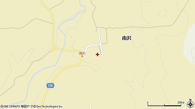 山形県尾花沢市南沢90周辺の地図