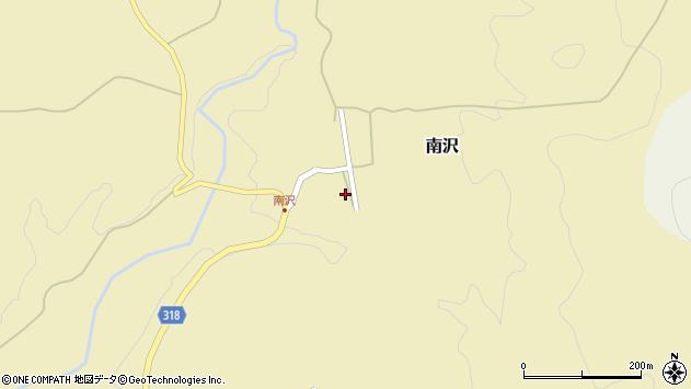 山形県尾花沢市南沢91周辺の地図