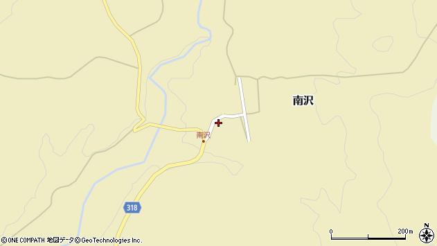 山形県尾花沢市南沢147周辺の地図