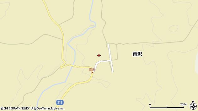 山形県尾花沢市南沢109周辺の地図