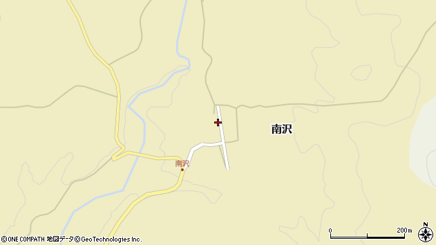 山形県尾花沢市南沢99周辺の地図