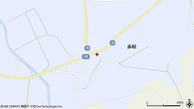 山形県最上郡大蔵村赤松655周辺の地図