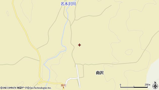 山形県尾花沢市南沢37周辺の地図