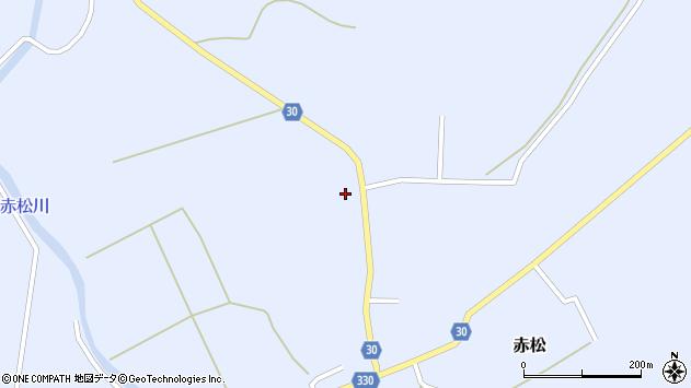 山形県最上郡大蔵村赤松735周辺の地図