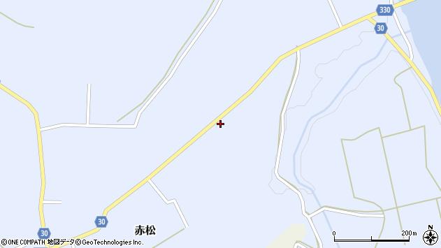 山形県最上郡大蔵村赤松2094周辺の地図