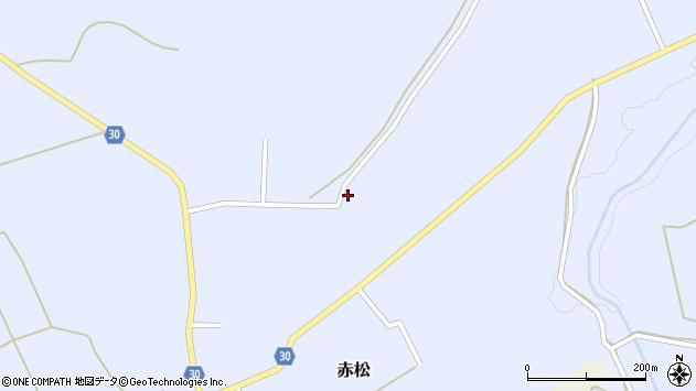 山形県最上郡大蔵村赤松1948周辺の地図