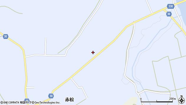 山形県最上郡大蔵村赤松1505周辺の地図